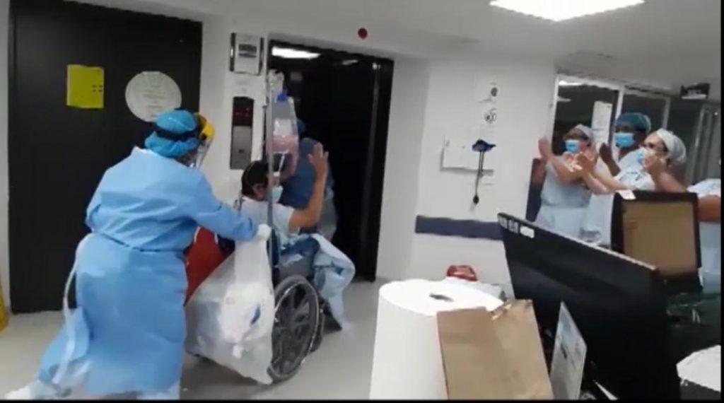Paciente recuperado COVID-19
