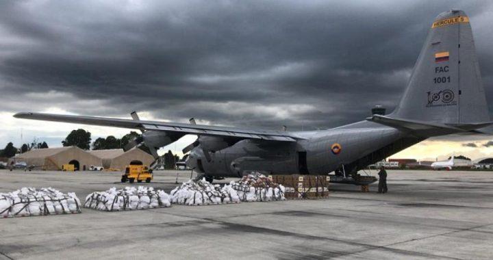 Transporte ayuda humanitaria FAC