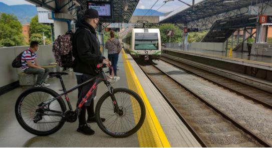 Bicicletas en el Metro