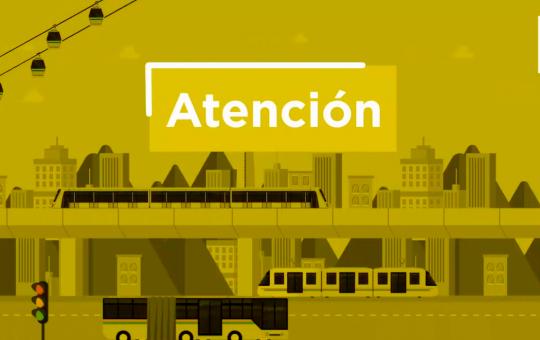 Atención Metro de Medellín